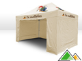 Professionele easy-up tent 3x4,5 voor de Mollekes