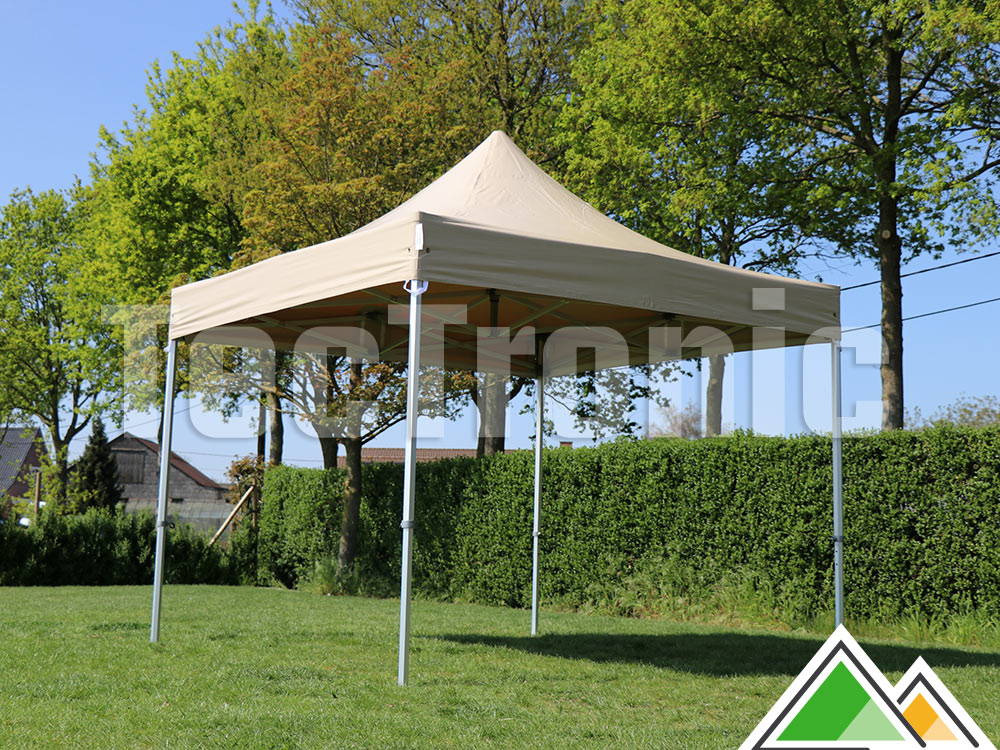 Easy-up tent 3x3 Solid 50 pvc