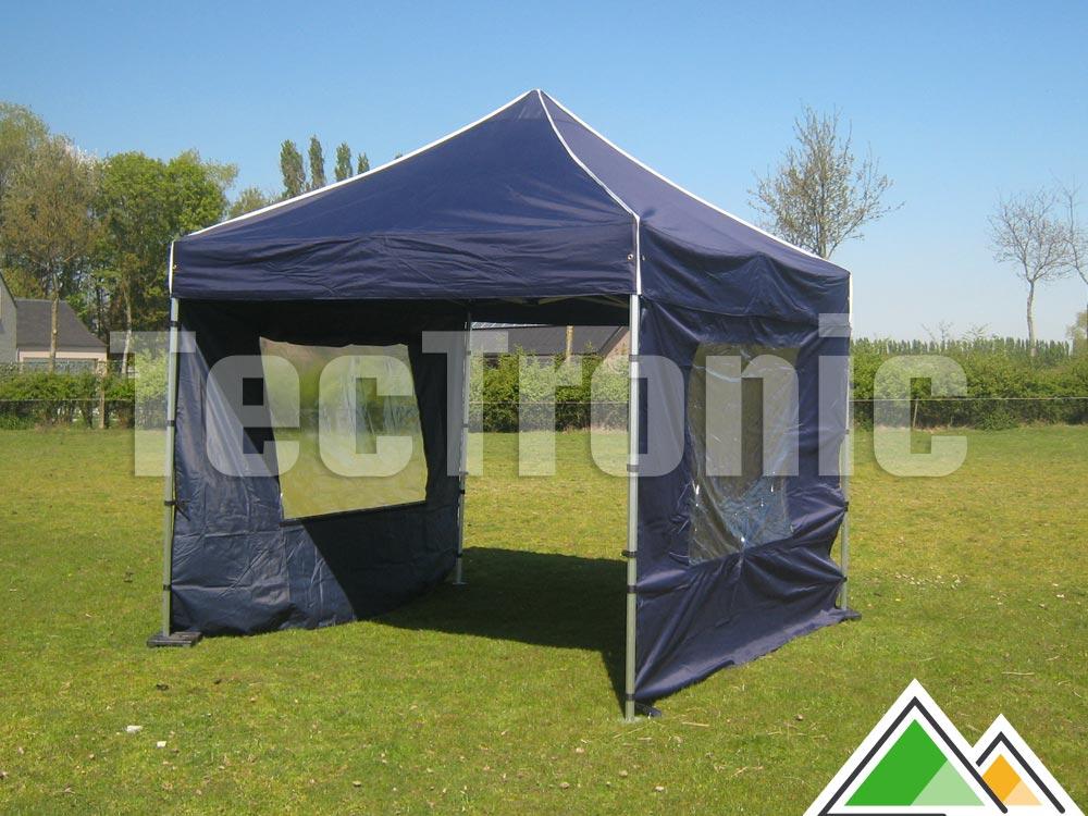 easy up tent marine blauw te koop. Black Bedroom Furniture Sets. Home Design Ideas