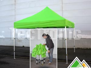 Easy-up tent 3x3 Solid 40 compact