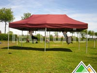 Stevige easy-up tent van 3x6 meter