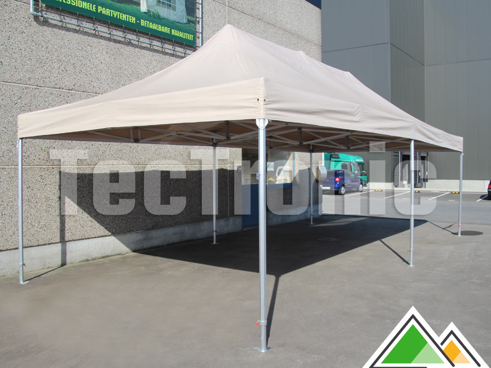 easy-up tent 4x8 Solid 50 pvc