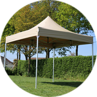 Easy-up tent Solid 50 pvc