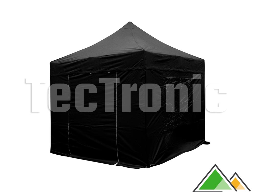 Easy up tent 3x3 Solid 40 zwart Limited Edition